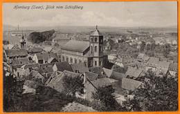 HOMBURG  - ( SAAR )  -  BLICK VOM SCHLOSSBERG  -  Janvier 1927 - Saarpfalz-Kreis