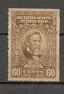 PUERTO RICO - RECTIFIED SPIRITS - Internal Revenue Stamp - USED - Puerto Rico