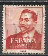 Spain 1961. Scott #990 (U) Juan Vazquez De Mellay Fanjul, Politician And Writer * - 1961-70 Oblitérés