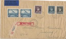 BELGIQUE L. Reco Bxl Par Avion > Allemagne  1931 - Airmail