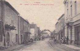 L Aude Bram La Barriere Avenue De St Denis Tres Animée 1918 - Bram