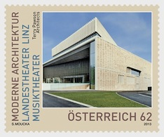 Austria 2013 Set - National Theatre Linz Music Theatre - 1945-.... 2nd Republic