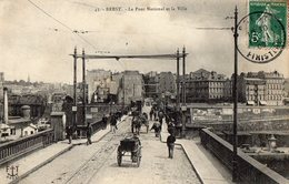 29 FINISTERE - BREST Le Pont National Et La Ville - Brest