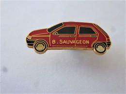 PINS AUTOMOBILE CITROËN GARAGE B. SAUVAGEON  /33NAT - Citroën