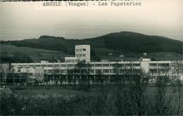 LES PAPETERIES à ANOULD Vosges Carte-Photo Glacée - Industrie