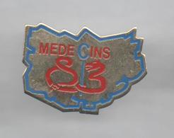 PINS PIN'S PHARMACIE SANTE MEDECINE MEDECINS SERPENT - Medical