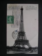 Paris-La Tour Eiffel 1923 - Ile-de-France
