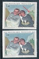 France - N° 1494 - 1 Exemplaire Sans Les Motifs Dans Le Buissons + 1 Normal , Neufs ** - Ref VJ69 - Errors & Oddities