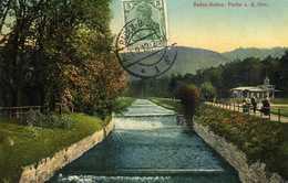 ALLEMAGNE   BADEN BADEN  Partie A.d. Oos    Carte écrite En 1912   2 Scans - Baden-Baden