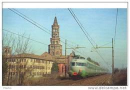 8m Treno Elettrotreno FS ETR 302 Treno Settebello Rairoad Locate Triulzio Treain Railweys Treni - Trains