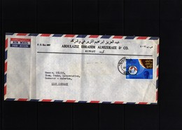 Kuwait Interesting Airmail Letter - Kuwait
