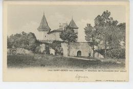 SAINT GENÈS Près LIBOURNE - Château De FLAUJAGUES - Autres Communes