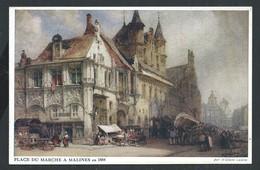 +++ CPA - Place Du Marché à MALINES En 1884 - MECHELEN   // - Malines