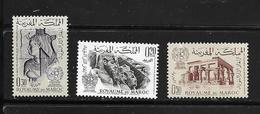 MAROC 1963 Sauvegarde Des Monuments De Nubie  YVERT N°461/63  NEUF MNH** - Marocco (1956-...)