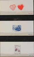 Documents De La Poste - 3 EPREUVES De Timbres 2011 N° 4528/29 - 4530 - 4531- Parfait Etat - Documents Of Postal Services