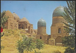 UZBEKISTAN -  SAMARCANDA - THE SHAH-I-ZINDA MAUSELEUM - VIAGGIATA 1975 FRANCOBOLLO ASPORTATO - Uzbekistan