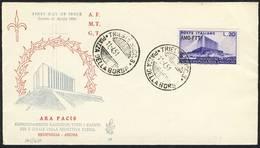 FDC Venetia Trieste-Ara Pacis-numero 88 - 6. 1946-.. Repubblica