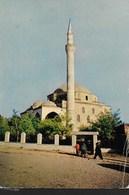MACEDONIA - SKOPLJE- MINARETO - VIAGGIATA 1962 FRANCOBOLLO ASPORTATO - Macedonia
