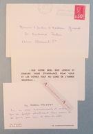 Carte 1973 Monseigneur Gabriel DELAVET Vicaire De Clermont Ferrand - Au Docteur Girard - Cdv Autographe L.A.S - Autographes