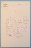 L.A.S 1969 Monseigneur Gabriel DELAVET Vicaire Clermont Ferrand - Séjour PARENTIGNAT - Lettre Autographe - Autographes