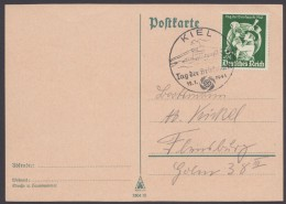 "MiNr. 762, EF Auf Karte, Pass. Ersttagssonderstempel ""Kiel"" - Briefe U. Dokumente"