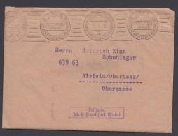 """""""Postsache"""", """"Frankfurt/M."""", 24.9.42, Inhalt : Umsatzmeldung !, Schönes Zeitdokument ! - Deutschland"""