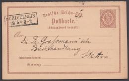 """P 3 F, Sauberer Bedarf, Ra """"Schivelbein"""" Nach Stettin - Deutschland"""