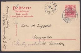 """P 65 Y, Bedarf """"Kropp/Schleswig"""", 28.5.07, Nach Schweden, Dort Noch Nachgesandt - Deutschland"""