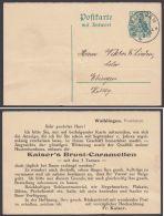 "P 92 F, Bedarf ""Waiblingen"", 8.2.13, Zudruck ""Brust-Caramellen"" - Deutschland"