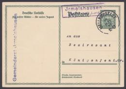 """P 212 II, Bedarf Mit Landpost """"Irmelshausen, Mellrichstadt Land"""", 18.5.32 - Deutschland"""