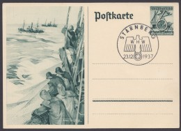"P  266, Pass. Sst ""Starnberg-WHW Im Wappenadler"", 23.12.37 - Deutschland"