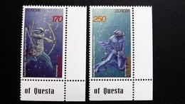 Armenien 317/8 **/mnh, EUROPA/CEPT 1997, Sagen Und Legenden - Armenia