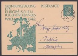 """P 309, Stempel """"P.S.St. Salzburg"""", 29.10.42 - Deutschland"""