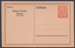 """PP 52 B 1 """"Robert Noske, Borna"""", Ungebraucht - Deutschland"""