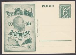 """PP 139 D 1/01 """"100 Jahre Briefmarke"""", Ungebraucht - Deutschland"""