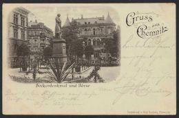 """""""Chemnitz"""", Gruß Aus..., 1897 Gelaufen - Chemnitz"""