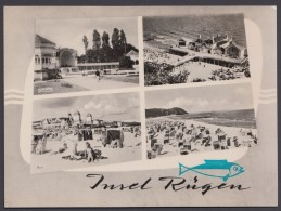 """""""Rügen"""", Mehrbild-Fotokarte, 1963 - Deutschland"""