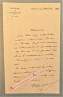 L.A.S 1961 Evêché De Clermont Ferrand - Clarisses - Signataire à Identifier - Lettre Autographe - Autographes
