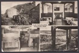 """""""Schalkau"""", Mehrbild-Fotokarte """"Cafe Schaumburg"""" Mit Innenansicht, 50er Jahre - Deutschland"""