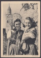 """Überlingen"", Trachtenkarte, Pass. Sst., 17.7.49 - Überlingen"