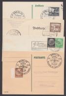 4 Belege Mit Sonderstempeln Aus 1937/9 - Briefe U. Dokumente