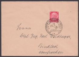 "MiNr. 519, ""Hannover"", Sst ""Ausstellung R.D.P."", 20/21.11.37 - Briefe U. Dokumente"