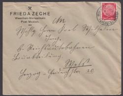 "MiNr. 519, Propaganda-Stempel ""Teplitz-Schönau"" Wir Sind Frei, 17.10.38 - Briefe U. Dokumente"