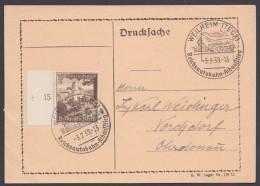 """MiNr. 675, Propaganda-Stempel """"Weilheim"""", Reichsautobahn, 3.2.39 - Briefe U. Dokumente"""