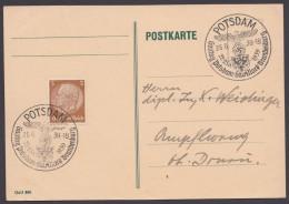 "MiNr. 513, Propaganda-Stempel ""Potsdam"", Gautag Mark Brandenburg, 25.6.39 - Briefe U. Dokumente"