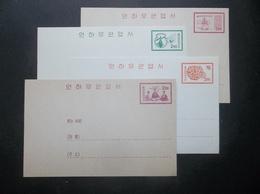 Korea, South, R.O.K.: 4 Postal Cards In Mint (#KC4) - Korea, South