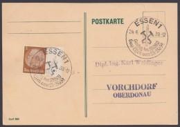 """MiNr. 513, Propaganda-Stempel """"Essen"""", Gautag NSDAP, 24.6.39 - Briefe U. Dokumente"""