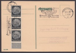 "MiNr. 512, Propaganda-Stempel ""Weissenfels"", Kreisappell NSDAP, 30.5.39 - Briefe U. Dokumente"