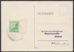 """MiNr. 529, Propaganda-Stempel """"Weimar"""", Füherlager HJ, 24.5.38 - Deutschland"""