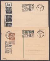 """MiNr. 512/3, Propaganda-Stempel """"Trier"""", Westmark-Gautag, 30.5.39, 2 Karten - Deutschland"""